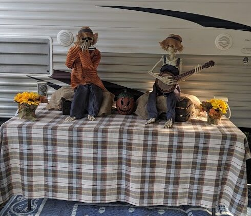 Halloween Campsite Decorating Ideas